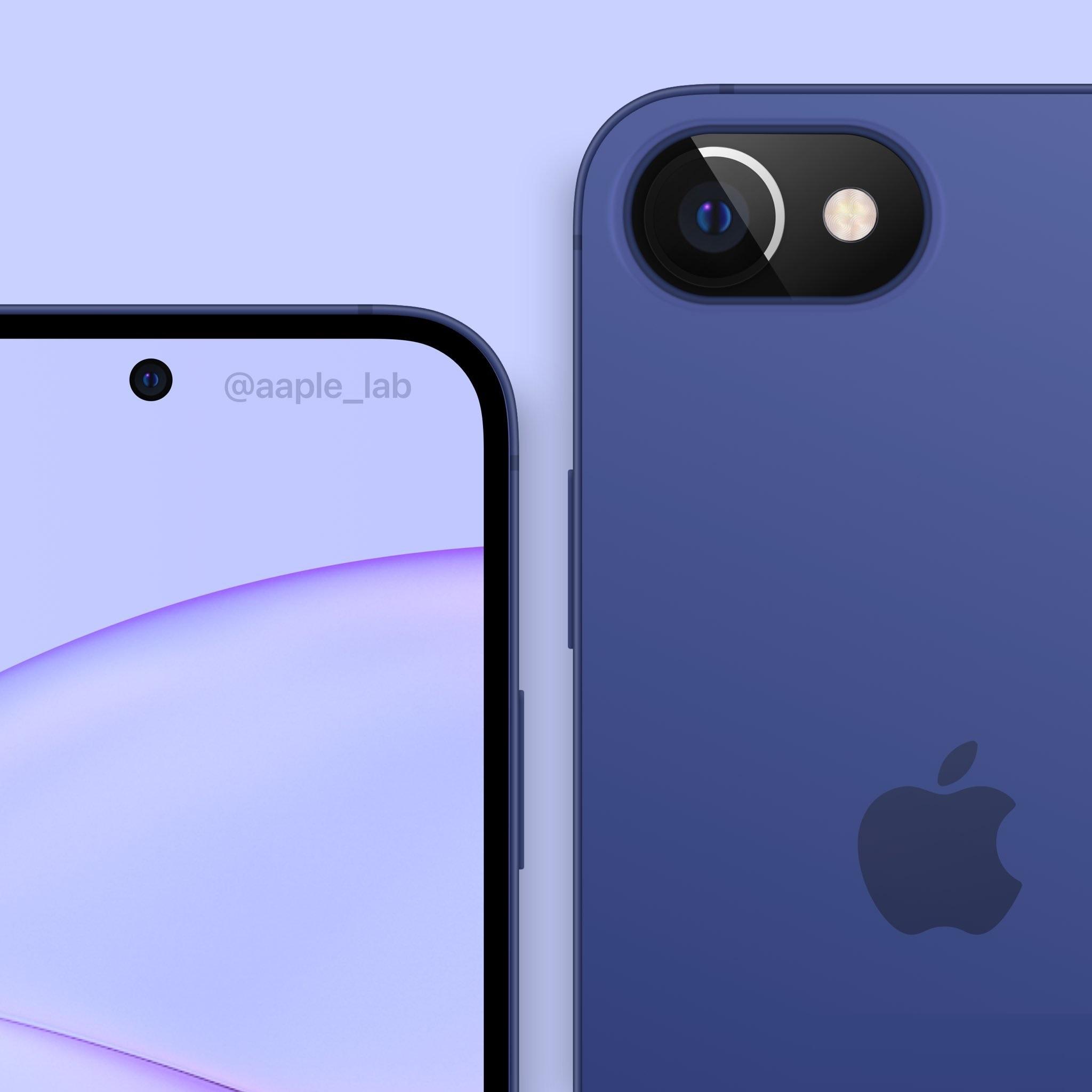 刘海没了!iPhone SE 2022曝光:外形感受下