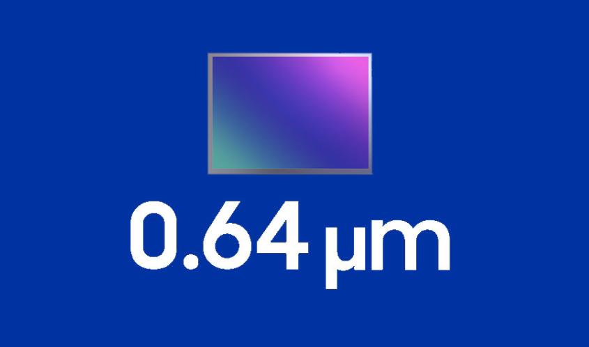 三星首款0.64µm传感器发布:5000万像素