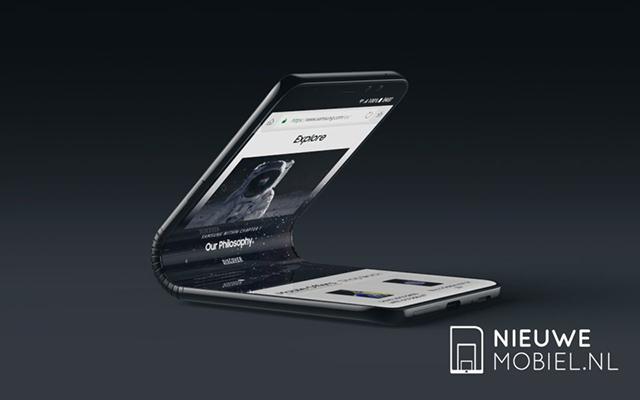 三星Galaxy F概念机,颠覆你对手机的想象!