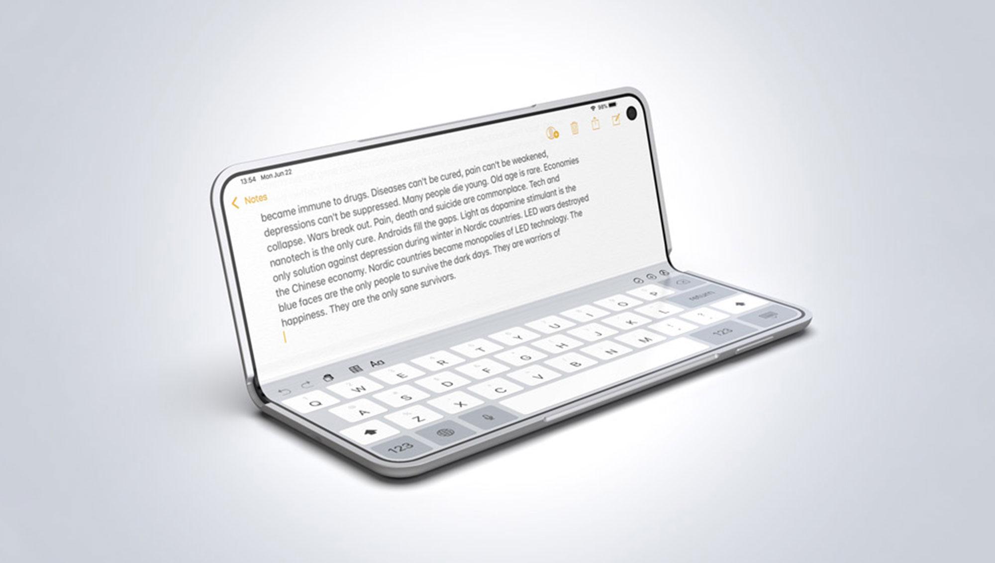 苹果新专利流出!曝出可折叠屏新技术难点
