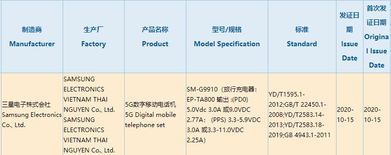 来了!首款骁龙875旗舰获认证:快充有点失望