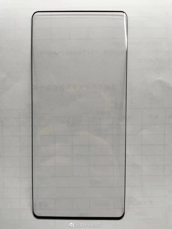 小米MIX 4钢化膜曝光:双曲面形态、屏占比优秀