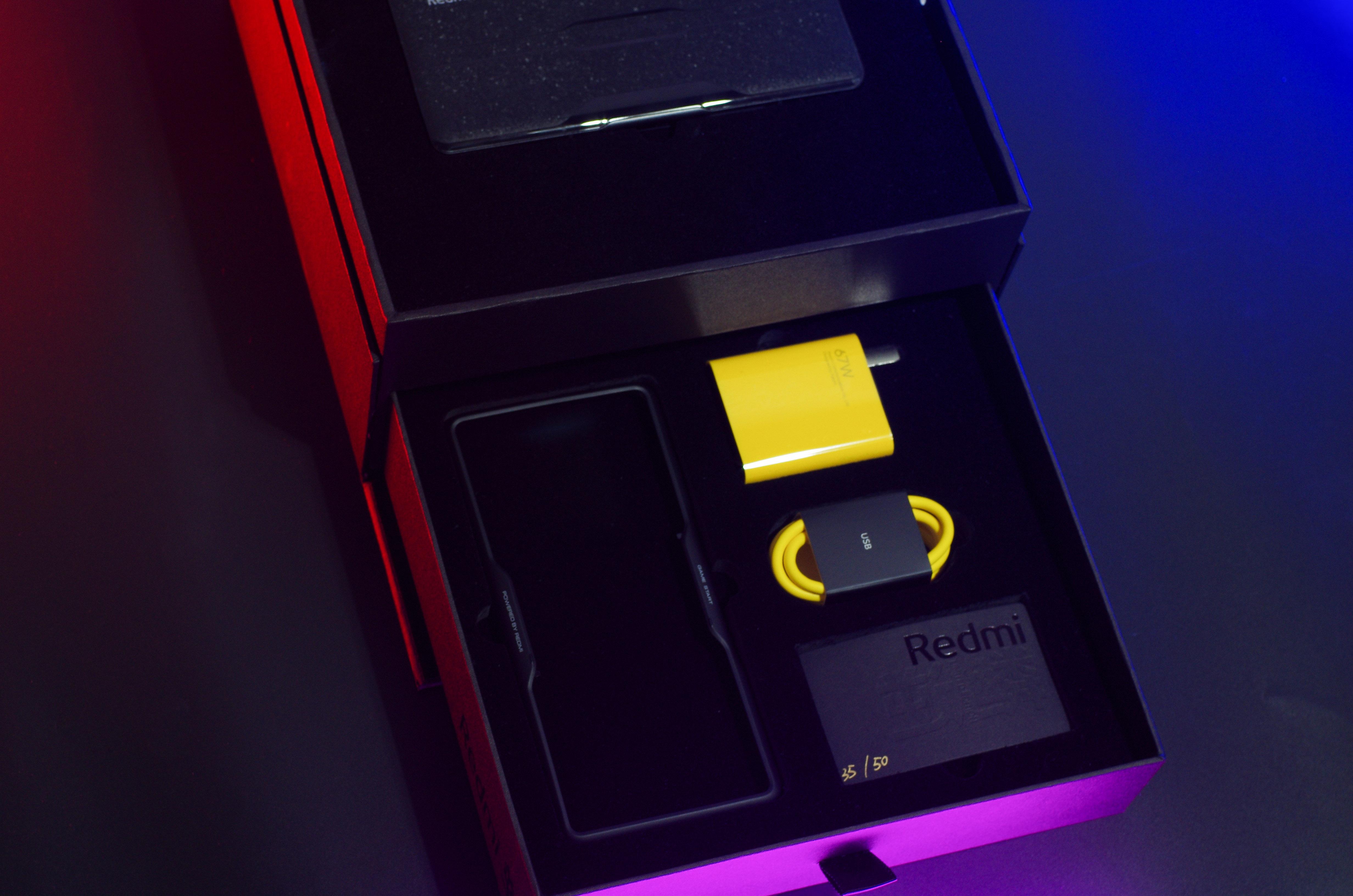 Redmi K40游戏版特别款图赏:每台都独一无二!