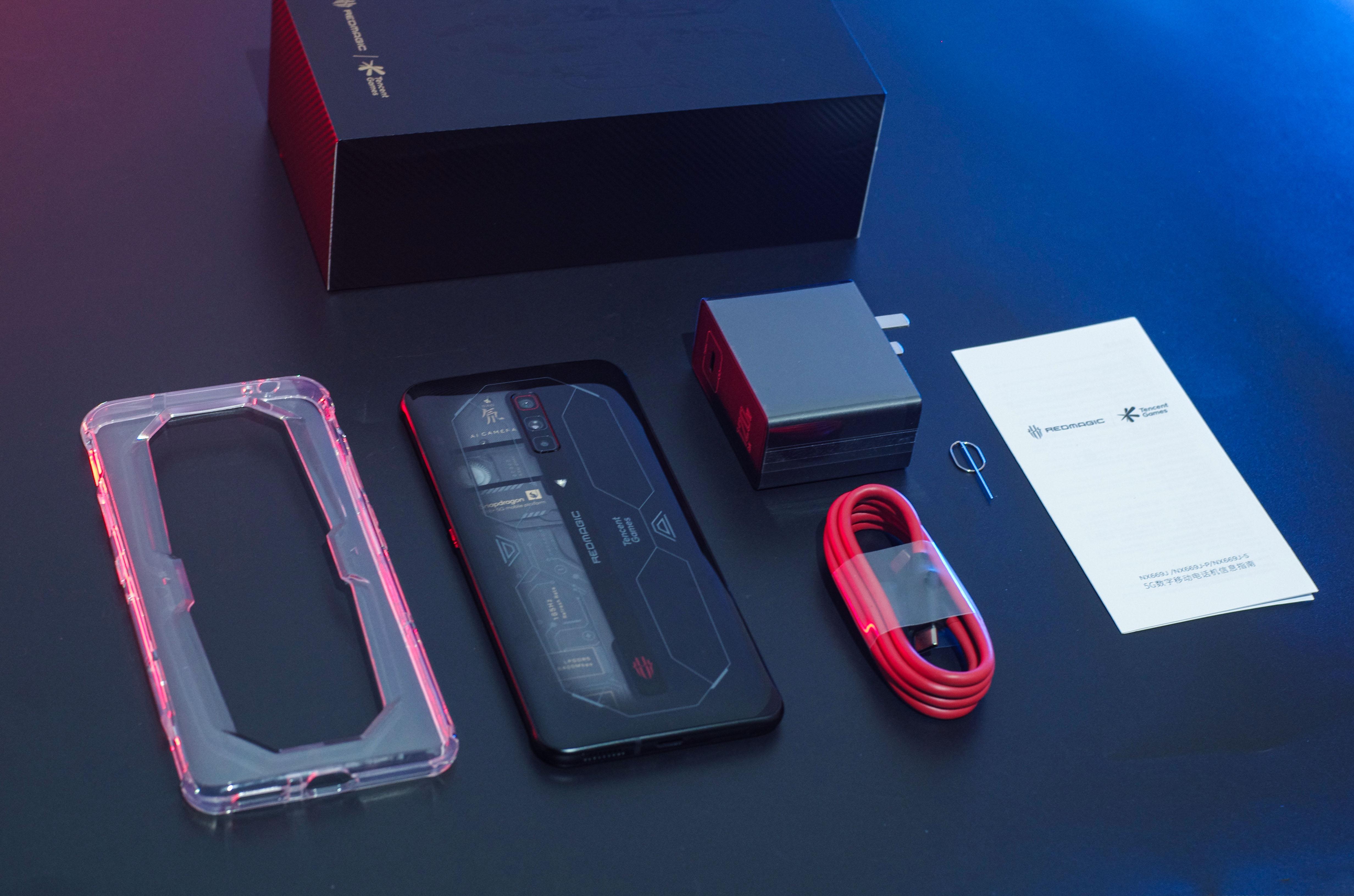 红魔游戏手机6S Pro评测:顶级散热配置 驯服骁龙888 Plus