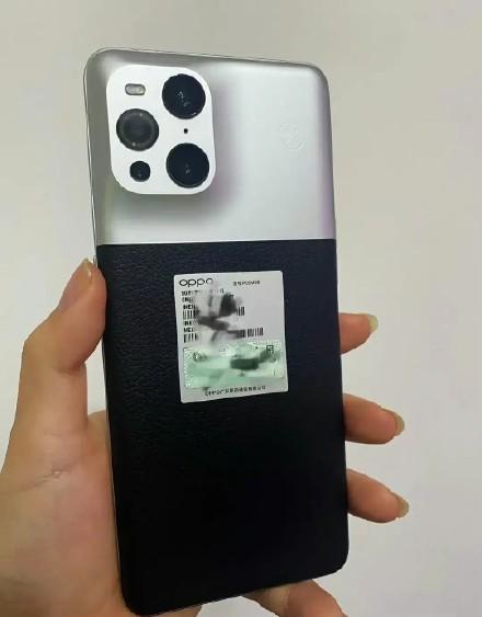 OPPO新旗舰现身:Find X3 Pro摄影师版外观揭晓