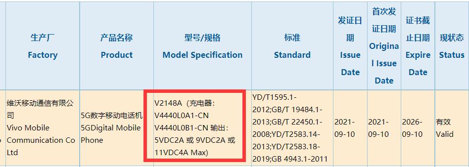 iQOO Z5入网:120Hz高刷屏+44W快充