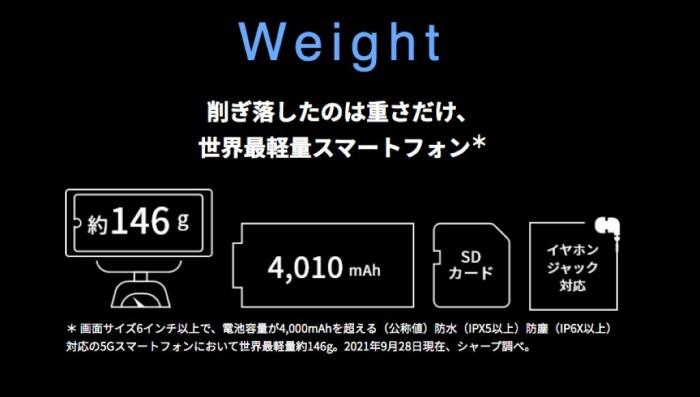 全球最轻5G手机发布:仅有146g
