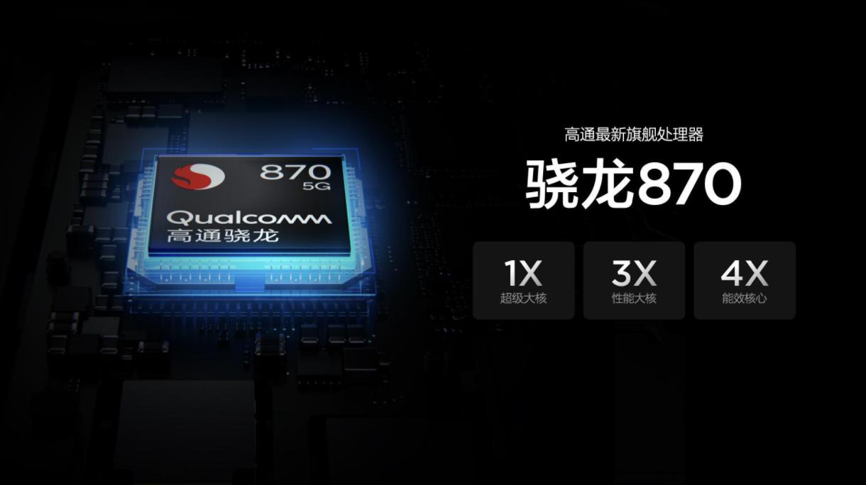 小米还将带来三款新机:均搭载骁龙870